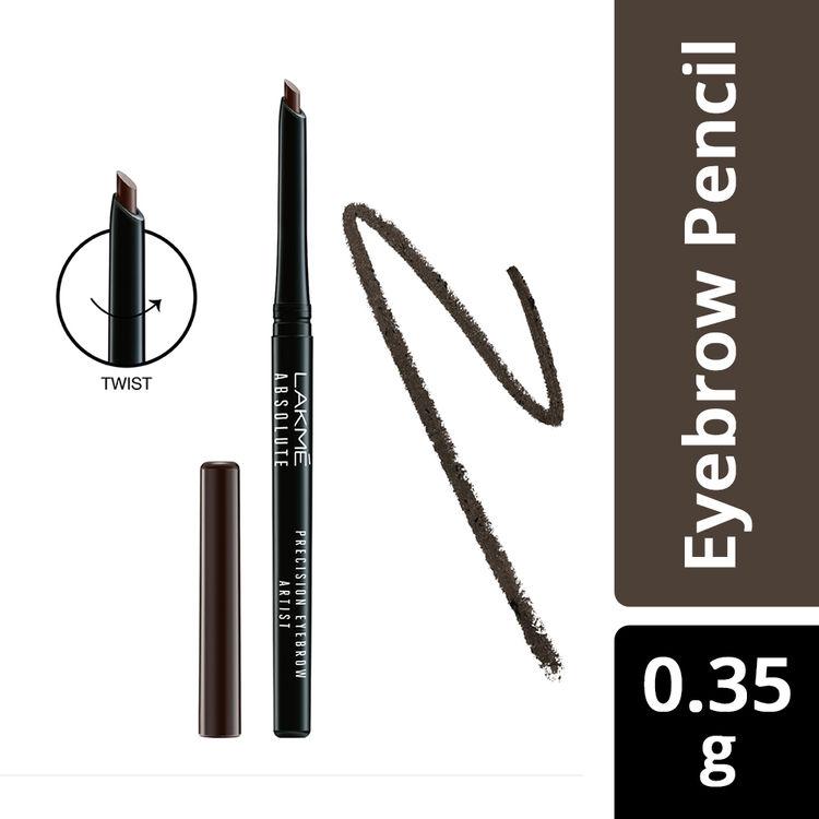 Buy Lakme Absolute Precision Eye Artist Eyebrow Pencil - Dark Brown (0.35 g)-Purplle