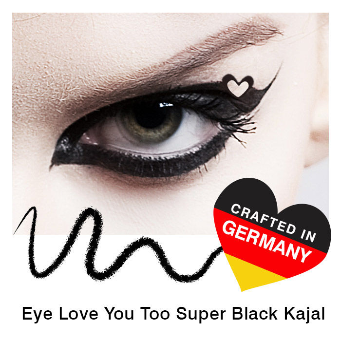 Stay Quirky Kajal Black Eye Love You Too