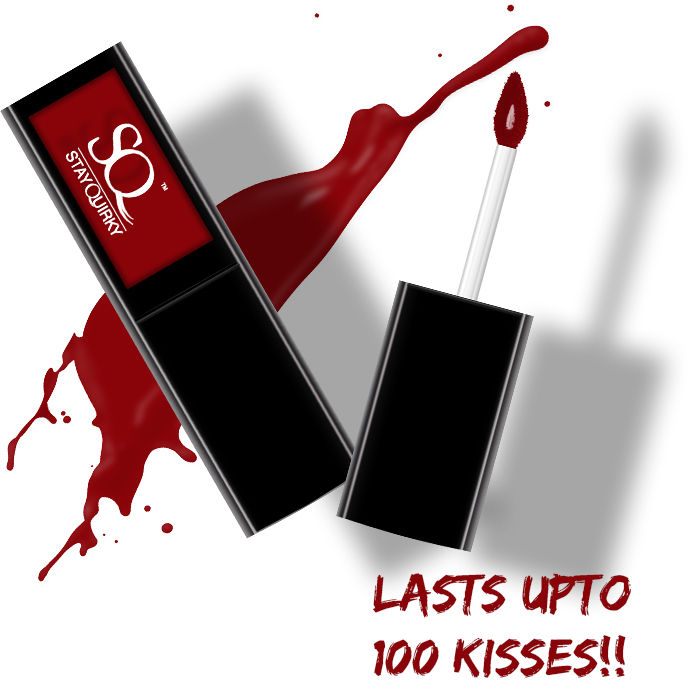 Buy Stay Quirky Liquid Lipstick, Red - Too Hot For Date Night 7 (4.5 ml)-Purplle