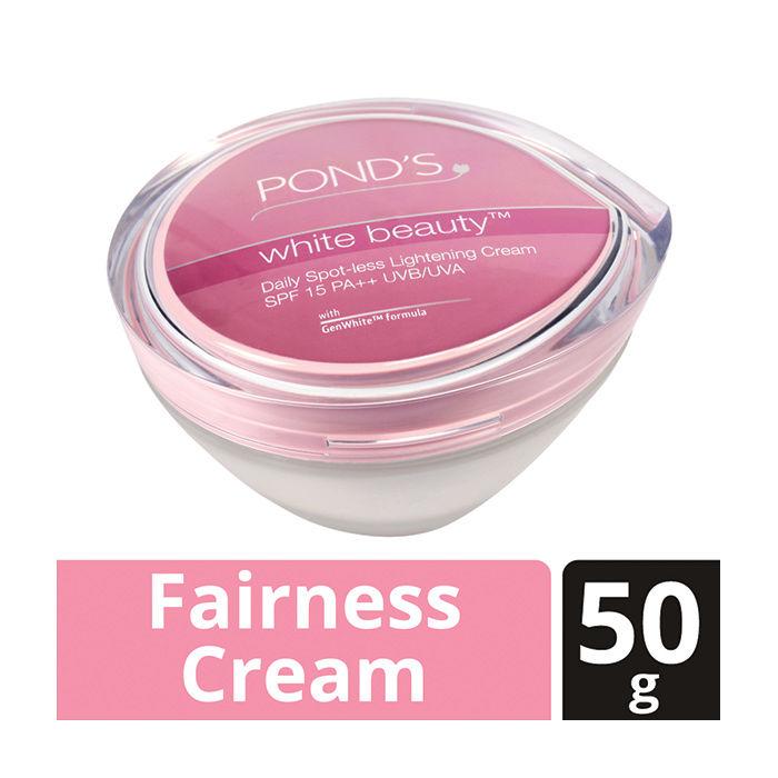 Senka White Beauty Lotion Ii Review: Buy Ponds White Beauty Daily Spot-Less Lightening Cream