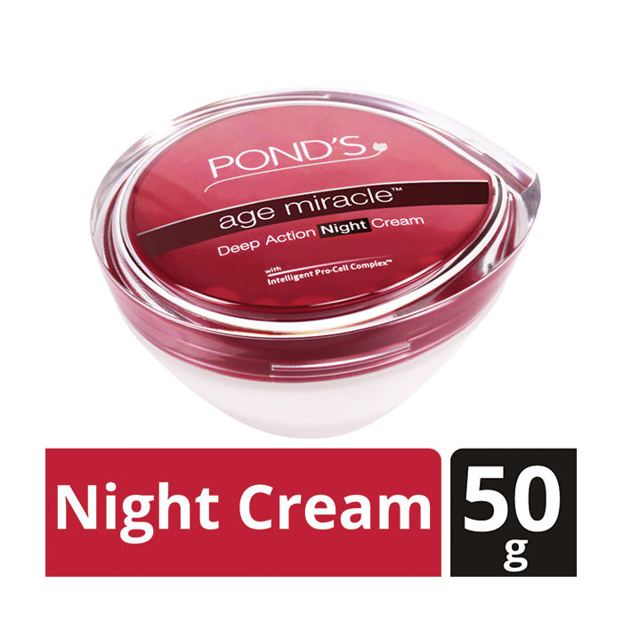 Buy Pond's Age Miracle Deep Action Night Cream (50 g)-Purplle
