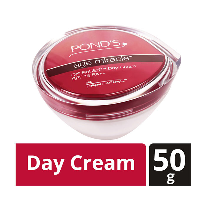 Buy Pond'S Age Miracle Cell Regen SPF 15 PA Day Cream (50 g)-Purplle