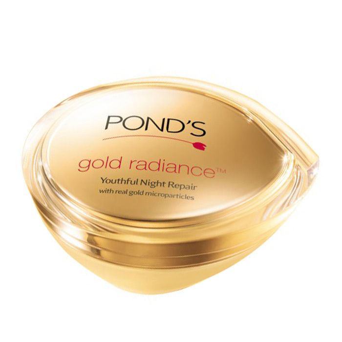 Buy Pond's Gold Radiance Youthful Night Repair (50 g)-Purplle