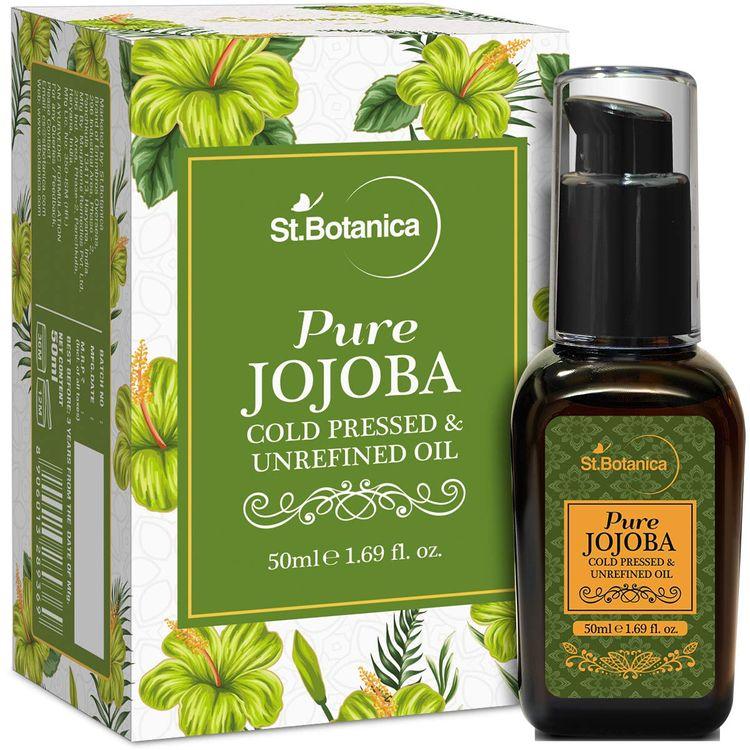 Buy St.Botanica Pure Jojoba Cold Pressed & Unrefined Oil (50 ml) Online |  Purplle