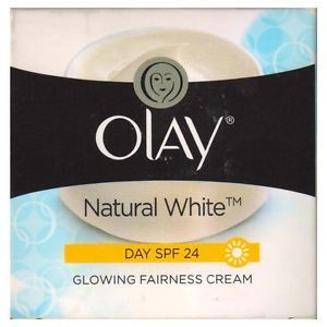 Buy Olay Natural White Day SPF 24 Glowing Fairness Cream (50 g)-Purplle