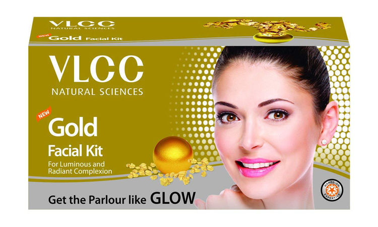Buy VLCC Gold Facial Kit (60 g)-Purplle