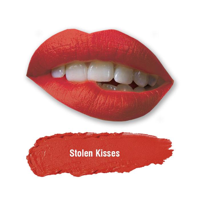 Buy Stay Quirky Lipstick, Soft Matte, Red, Badass - Stolen Kisses 48-Purplle
