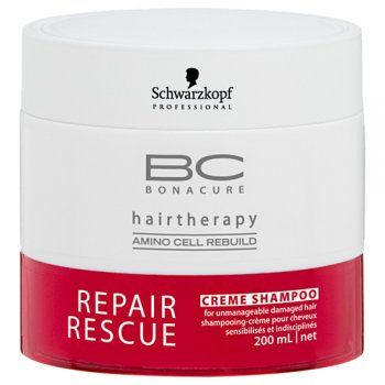 Buy Schwarzkopf Bonacure Repair Rescue Creme Shampoo (200 ml)-Purplle