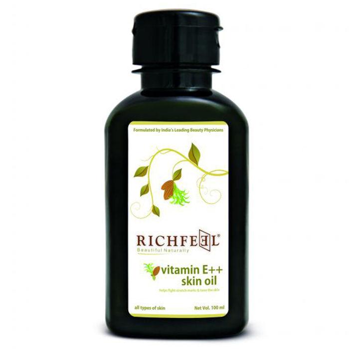 Buy Richfeel Vitamin E++ Oil (100 ml)-Purplle