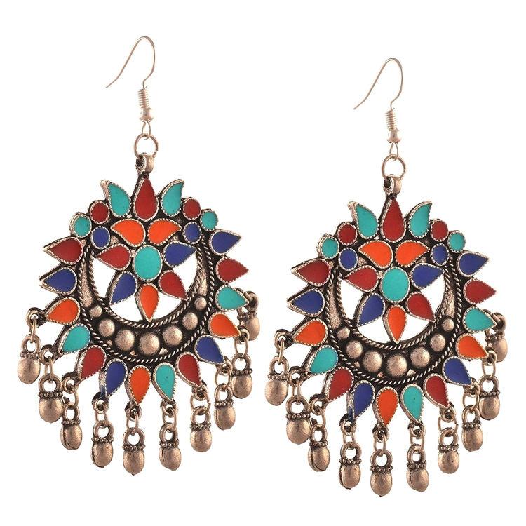 e1901c430 ... Oxidised Silver Afghan Earrings for Women. Details; Reviews; Related;  Questions