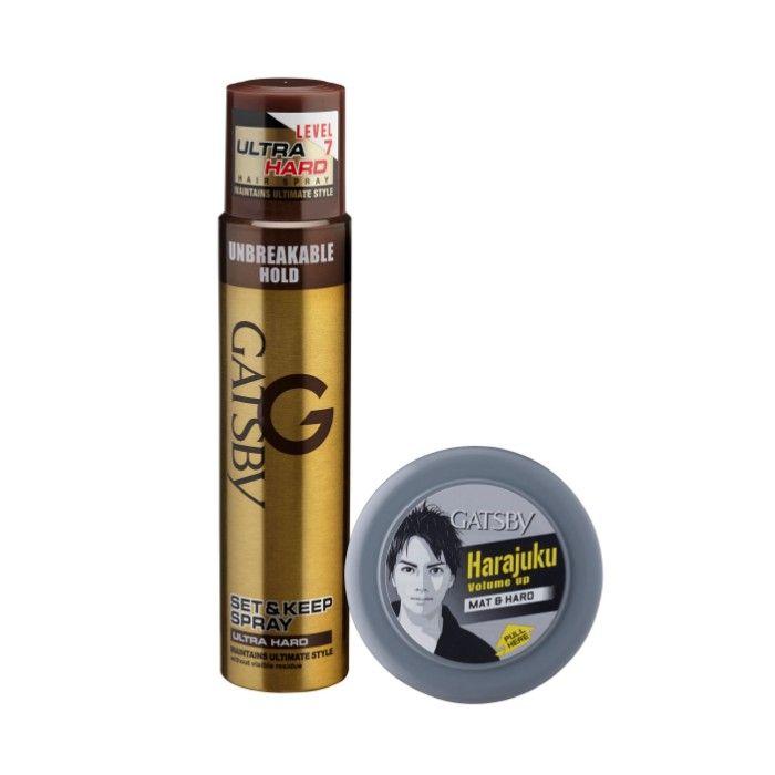 Wax 75g Source · Buy Gatsby Set and Keep Ultra Hard Hair Spray .