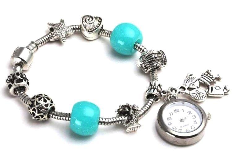 Buy Crunchy Fashion Pandora Style Charm Bracelet Watch Online Purplle