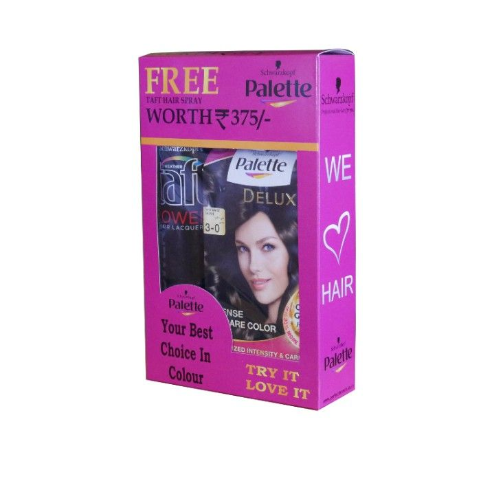 Palette Permanent Natural Colors Hair Dye Black 900