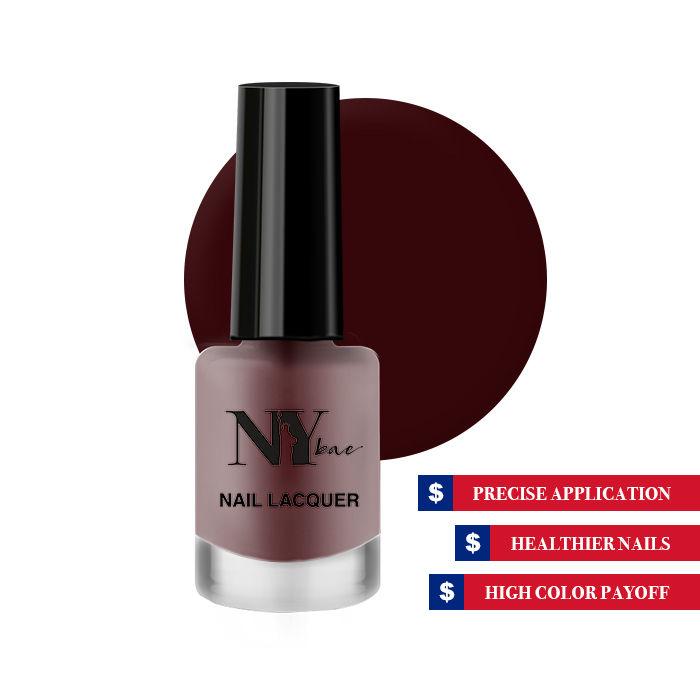 Ny Bae Nail Lacquer Matte Red Soft Pretzel 5