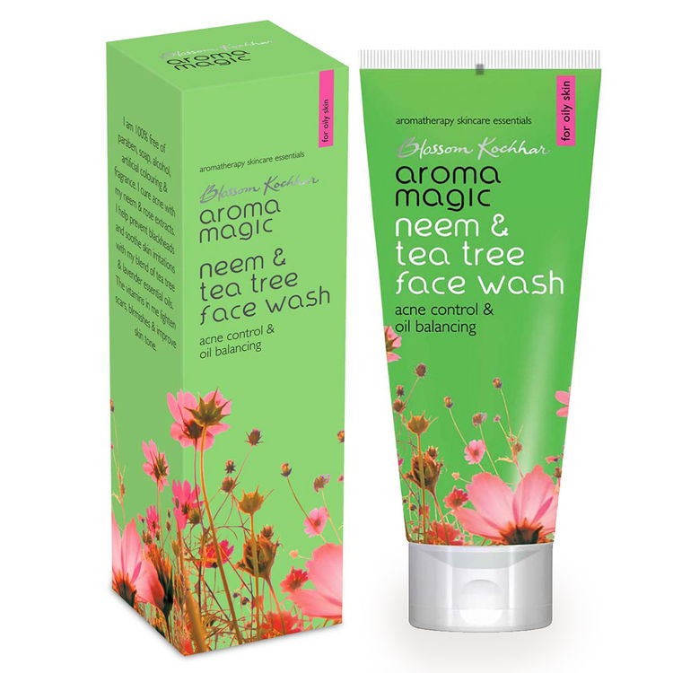 Buy Aroma Magic Neem & Tea Tree Face Wash (100 ml)-Purplle