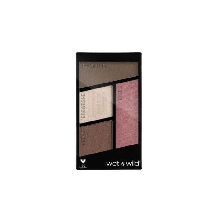 Buy Wet n Wild Color Icon Eyeshadow Quads - Sweet As Candy (1.4 g)-Purplle