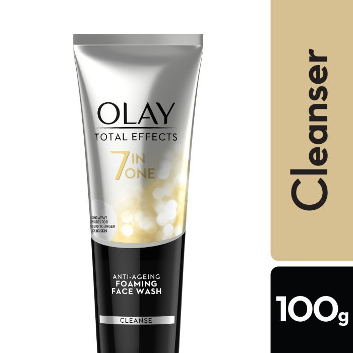 Buy Olay Total Effect 7 IN 1 Anti AgeingFoaming Face Wash (100 g)-Purplle