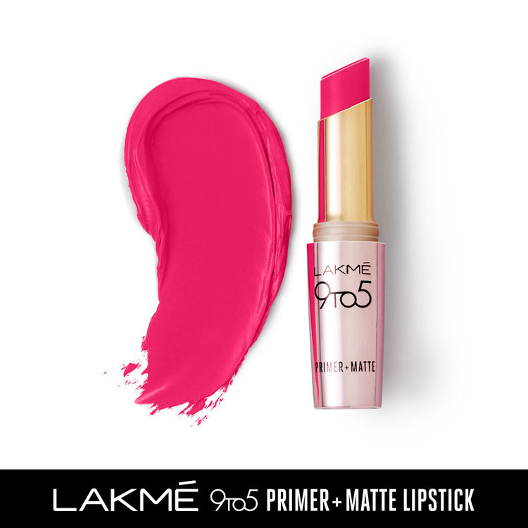 Buy Lakme 9 To 5 Primer + Matte Lipstick Shade MB9