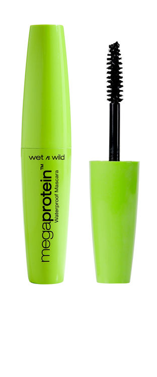 Buy Wet n Wild Mega Protein Waterproof - Very Black (8 ml)-Purplle
