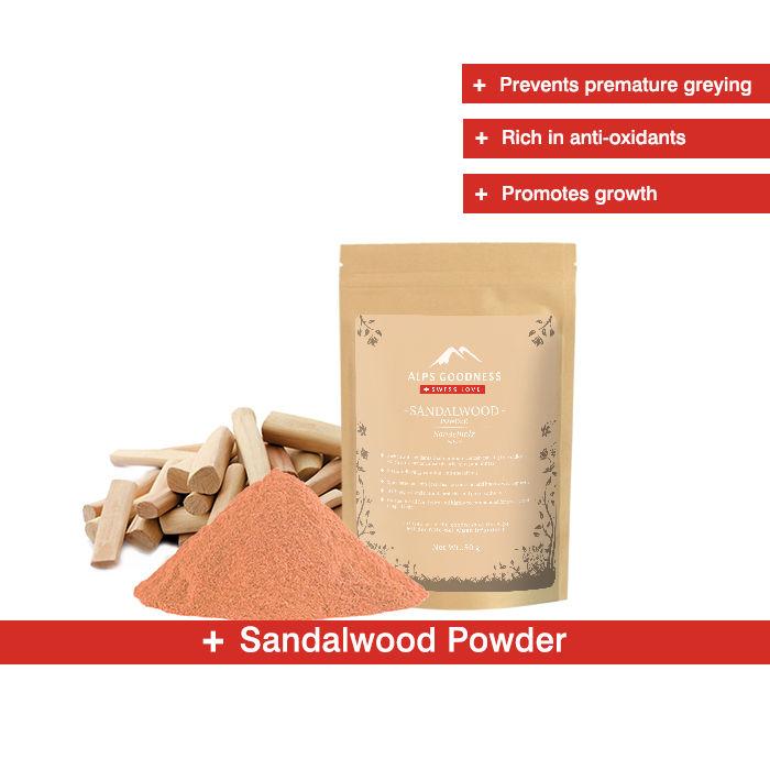 Alps Goodness Powder - Sandalwood (50 g)
