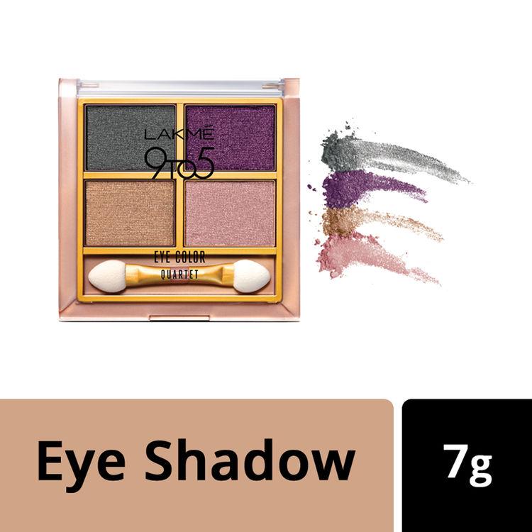 Buy Lakme 9 To 5 Eye Quartet Eyeshadow - Silk Route (7 g)-Purplle