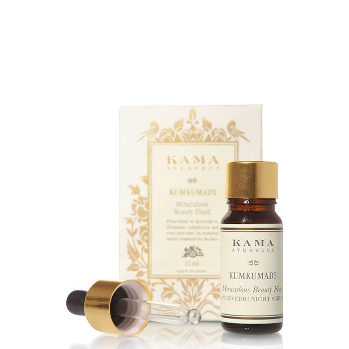 Buy Kama Ayurveda Kumkumadi Miraculous Beauty Ayurvedic Night Serum (12 ml)-Purplle