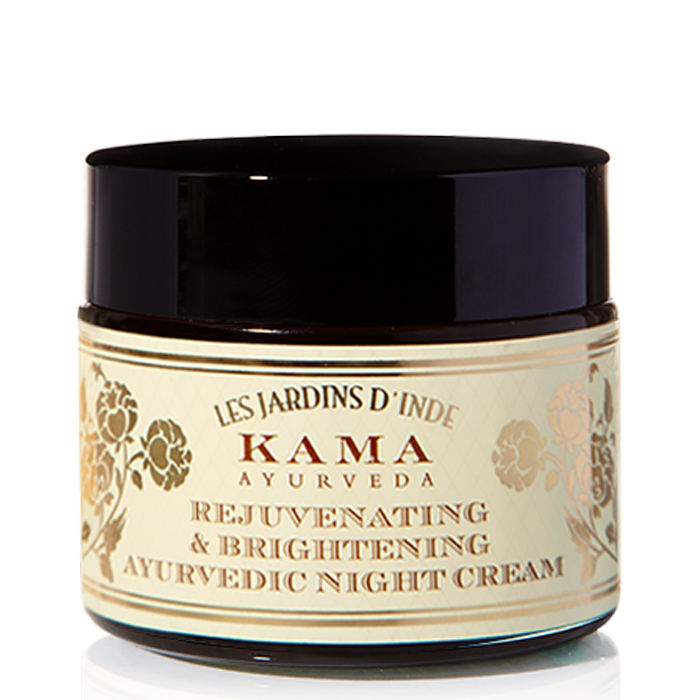 Buy Kama Ayurveda Rejuvenating & Brightening Ayurvedic Night Cream (50 g)-Purplle