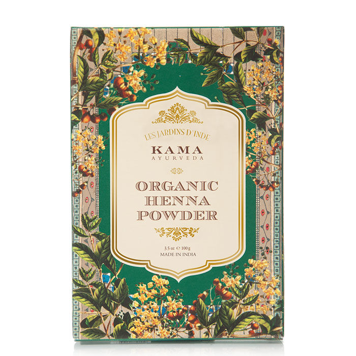 Buy Kama Ayurveda Organic Henna Powder (100 g)-Purplle