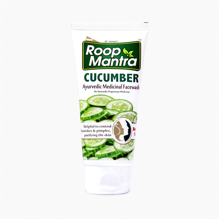 Buy Roop Mantra Cucumber Face Wash (50 ml) For Men & Women-Purplle