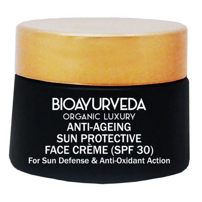 Bioayurveda Anti-Ageing Sun Protective Face Cream (Spf 30) (40 g)