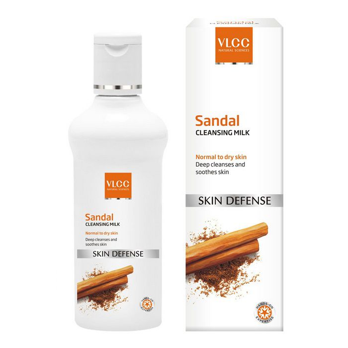 Buy VLCC Skin Defense Sandal Cleansing Milk (100 ml)-Purplle