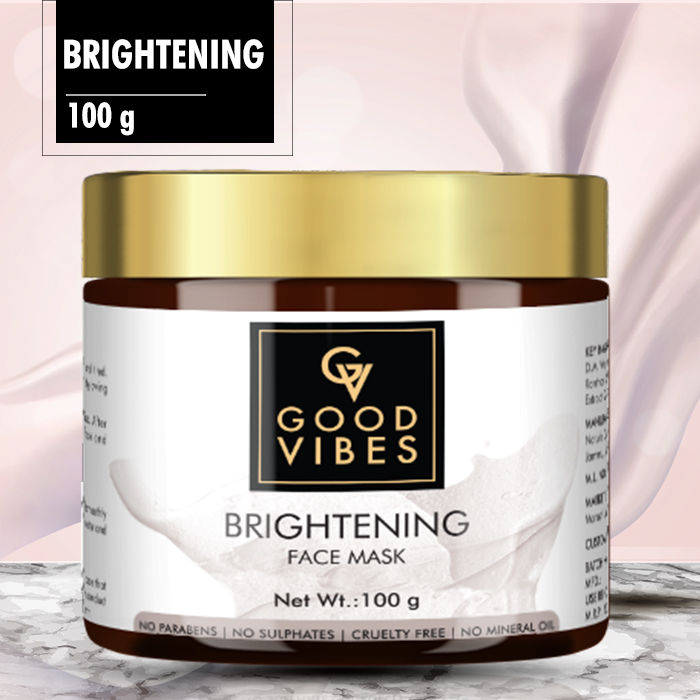 Good Vibes Glow Face Mask Brightening 100 G