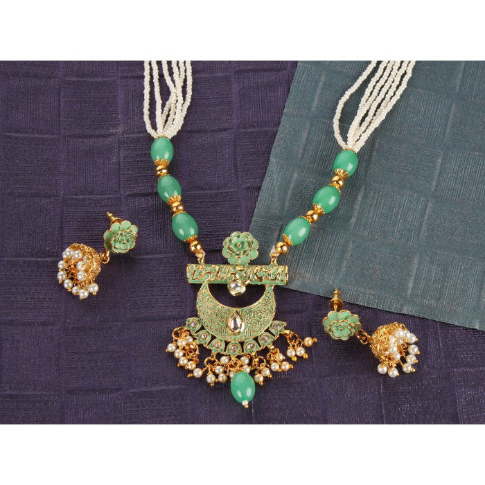 Kord Store Contemporary Green Stone Traditional Jewellery