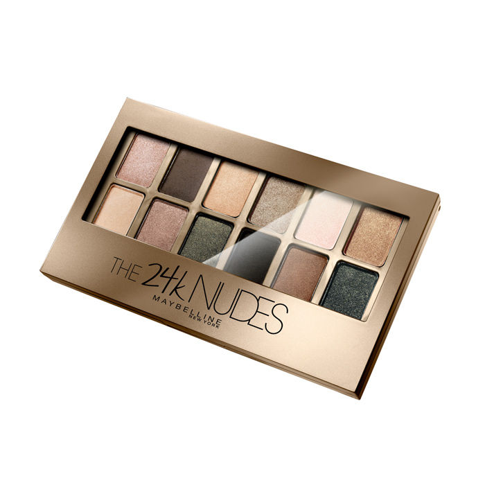 MAYBELLINE The 24K Nudes Eyeshadow Palette (6 Pack