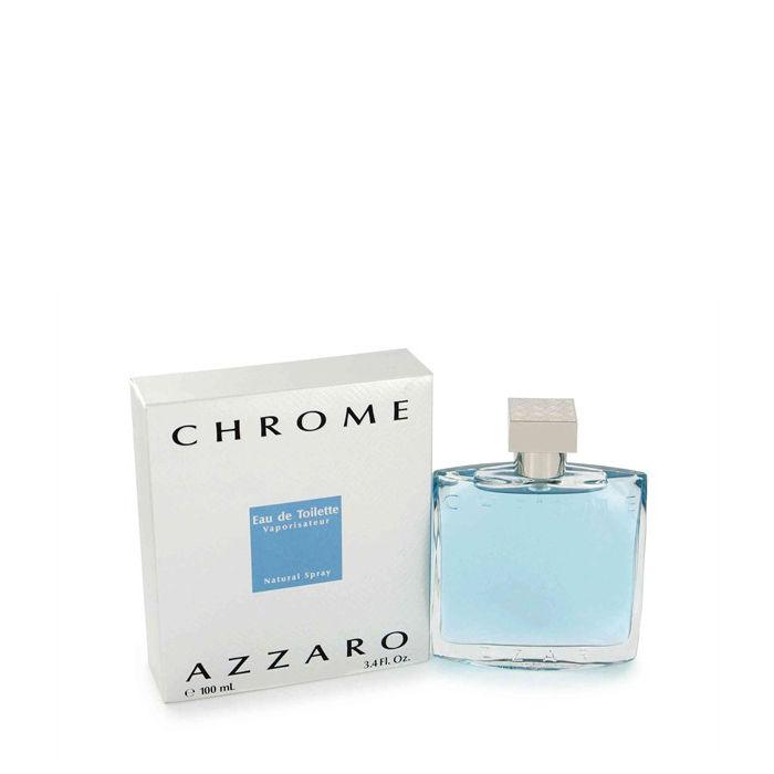 Buy Azzaro Chrome for Men EDT (100 ml)-Purplle