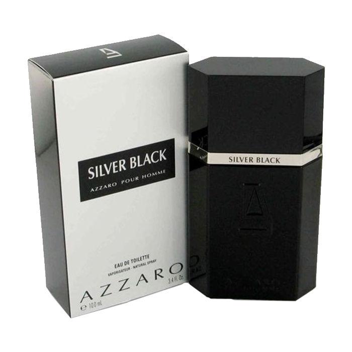 Buy Azzaro Silver Black for Men EDT (100 ml)-Purplle