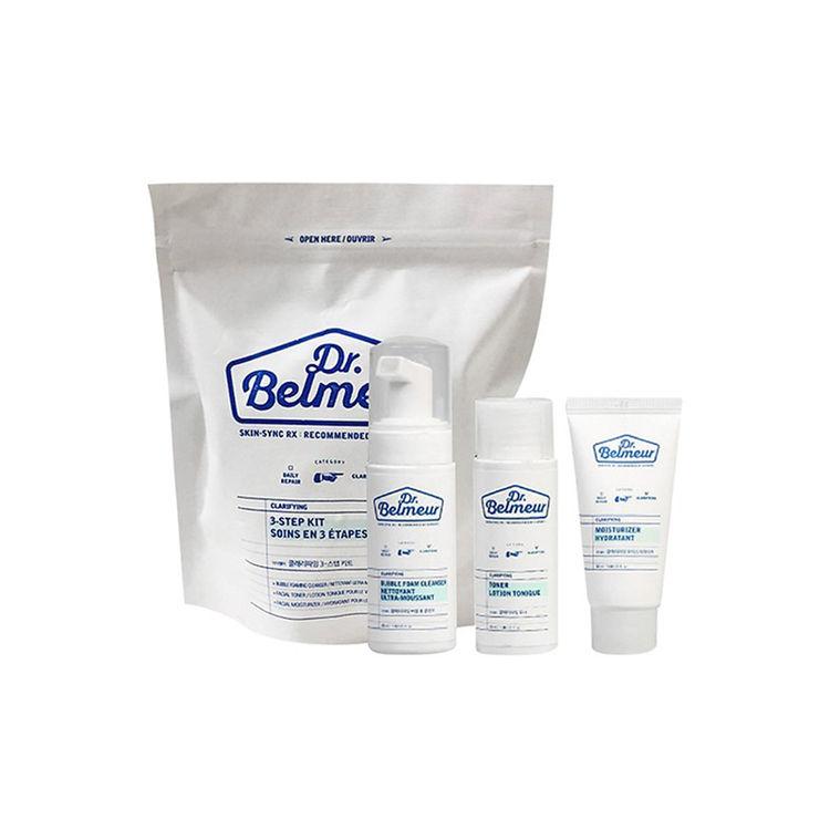Buy The Face Shop Dr.Belmeur Clarifying 3-Step Kit Online   Purplle