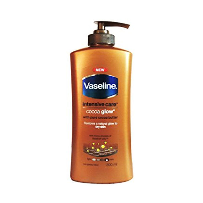Buy Vaseline Intensive Care Cocoa Glow Body Lotion (300 ml)-Purplle