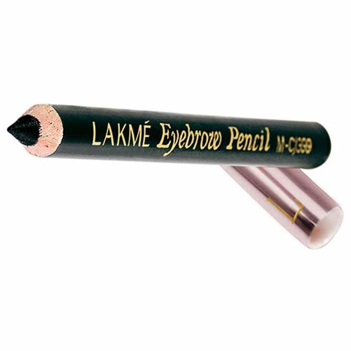 Buy Lakme Eyebrow Pencil Black (2 g)-Purplle