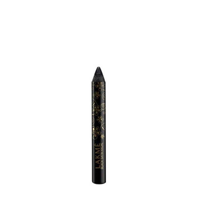 Buy Lakme Black Satin Kajal (2 g)-Purplle