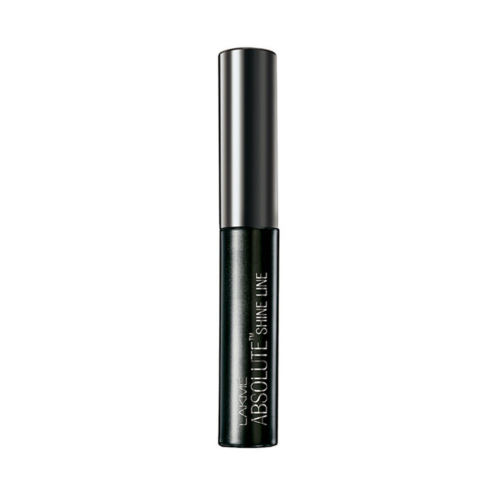Buy Lakme Absolute Shine Liquid Eye Liner - Black (4.5 ml)-Purplle