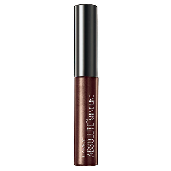 Buy Lakme Absolute Shine Line Brown Shimmer Eyeliner-Purplle