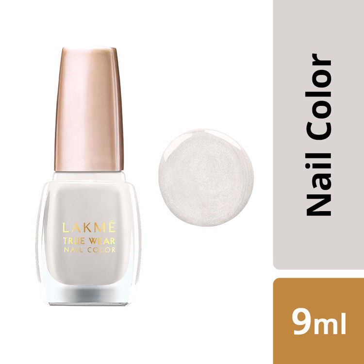 Lakme True Wear Nail Color Classics Clear Glass Shade CG012 (9 ml)