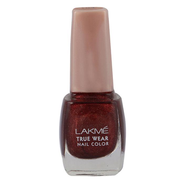 Buy Lakme True Wear Nail Colour Berry Maroon 104 9 ml-Purplle