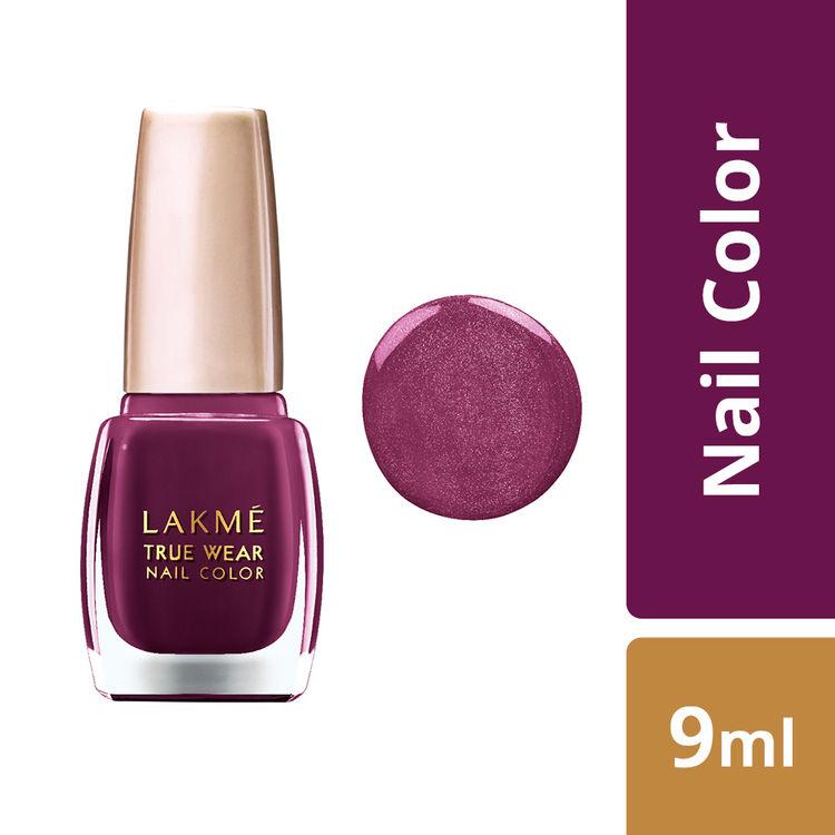 Buy Lakme True Wear Nail Color - Deep Blush 403 (9 ml)-Purplle