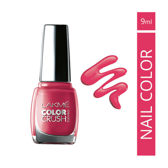 Buy Lakme True Wear Color Crush Nail Color Pinks 21 (9 ml)-Purplle