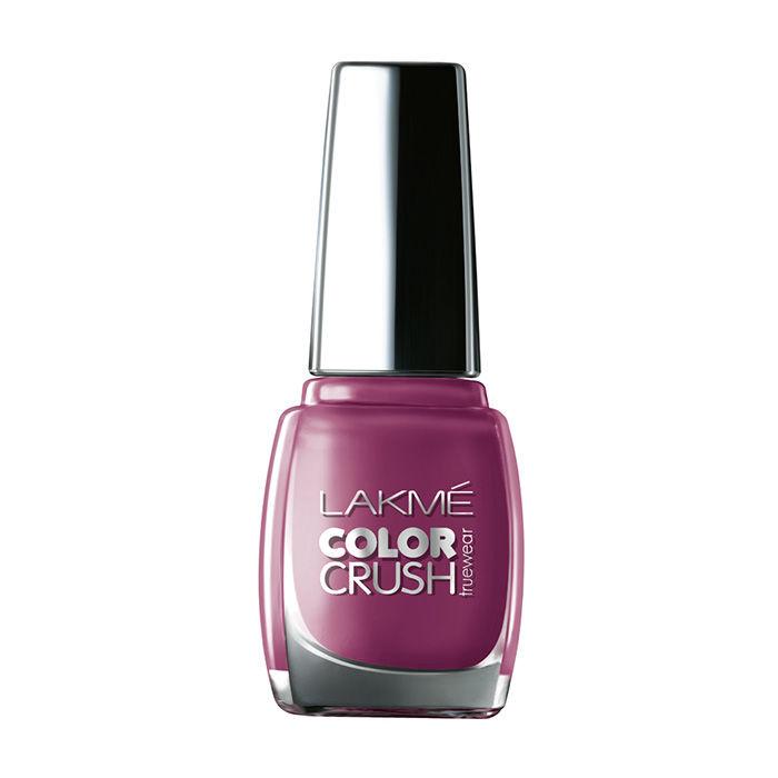 Buy Lakme True Wear Color Crush Nail Color Lavender 11 (9 ml)-Purplle