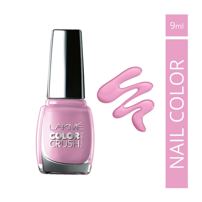 Buy Lakme True Wear Color Crush Nail Color Shade 14 (9 ml)-Purplle