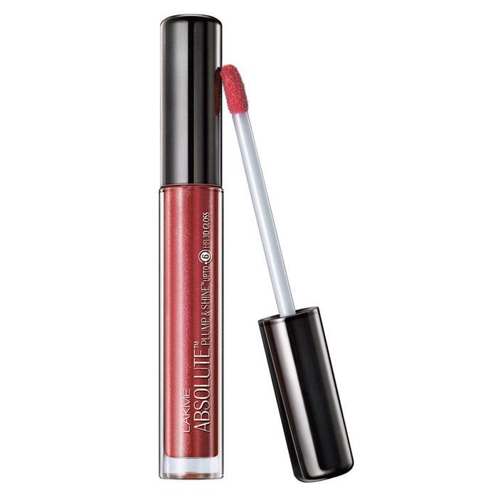 Buy Lakme Absolute Plump & Shine Lip Gloss Beige Shine (3 ml)-Purplle