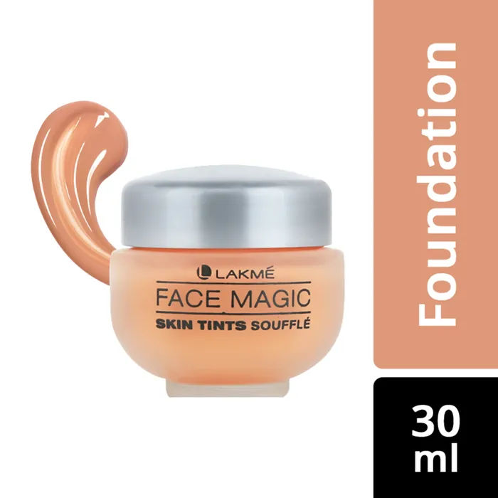 Buy Lakme Face Magic Skin Tints Souffle - Shell (30 ml)-Purplle